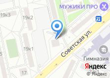 Компания «Комок66» на карте
