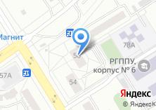 Компания «Техногард» на карте