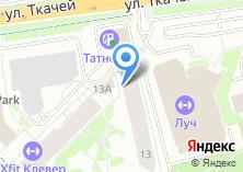 Компания «Автостоянка на ул. Ткачей» на карте