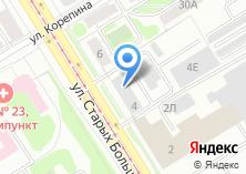 Компания «Свердловские тепловые сети» на карте
