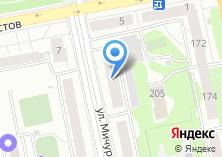 Компания «Дока-пицца» на карте