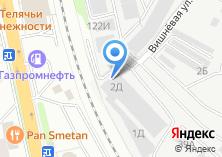 Компания «Уральские двери» на карте