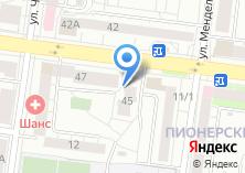 Компания «Projector66.ru» на карте
