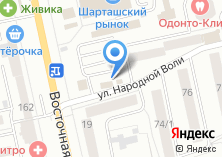 Компания «RED line» на карте
