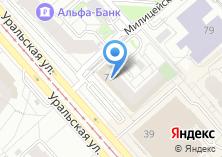Компания «Банкомат УралТрансБанк» на карте