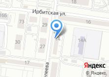 Компания «Рига» на карте