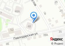 Компания «Строящийся жилой дом по ул. Павлодарская» на карте
