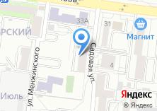 Компания «Сима» на карте