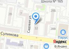Компания «Общежитие Екатеринбургский колледж транспортного строительства» на карте