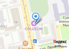 Компания «Лист» на карте