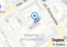 Компания «Детский сад №554» на карте