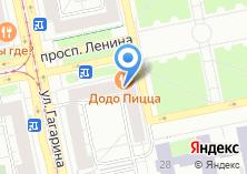 Компания «Адвокат Белов Э.Ю.» на карте