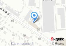 Компания «УралНИИПДрев» на карте