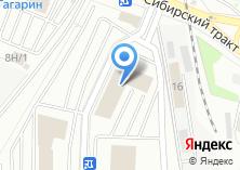 Компания «Пятница» на карте
