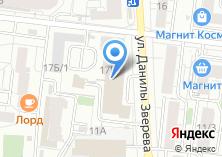 Компания «Сиеста» на карте