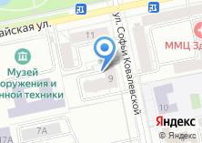 Компания «Новокосулино» на карте