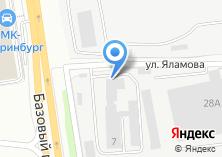 Компания «УралСервисТрейдинг» на карте