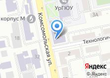 Компания «Уральский государственный юридический университет» на карте