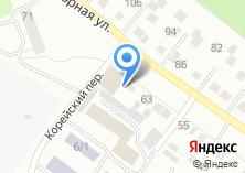 Компания «Корея Авто» на карте