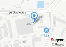 Компания «Техресурс» на карте