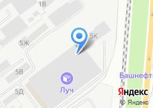 Компания «Гарус-МК» на карте