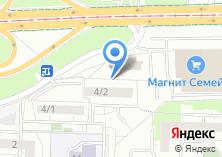 Компания «Уральское здоровье» на карте