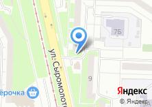 Компания «Три Толстяка» на карте
