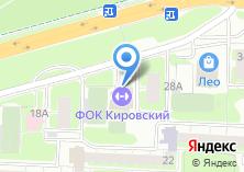 Компания «Физкультурно-оздоровительный комплекс» на карте