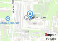 Компания «Рассветный» на карте