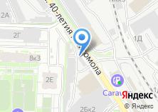 Компания «Оптекс66» на карте