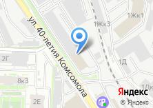 Компания «Мир двигателей» на карте