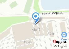 Компания «Опткор» на карте