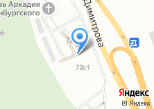 Компания «Габбро» на карте