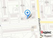 Компания «Аквасфера» на карте