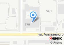 Компания «Уральское кольцо» на карте