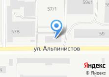 Компания «Тера» на карте