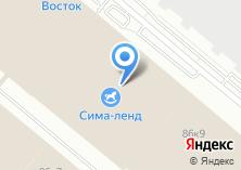 Компания «Сима-Ленд» на карте