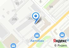 Компания «УАЗ Центр Березовский» на карте