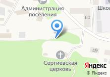 Компания «Приход во имя Святого преподобного Сергия Радонежского» на карте