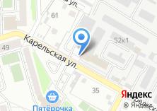 Компания «Автостоянка на Карельской» на карте