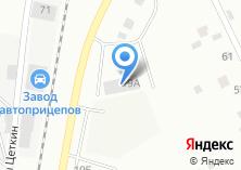 Компания «Уралгиб» на карте