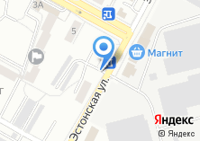 Компания «Автостоянка на Эстонской» на карте