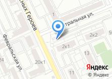 Компания «Автостоянка на ул. Красных Героев (г. Березовский)» на карте