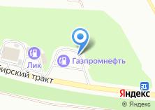 Компания «АЗС Газпромнефть-Урал Октябрьский район» на карте