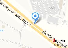 Компания «СК-Обь» на карте