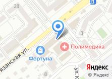 Компания «Челябинский трикотаж» на карте