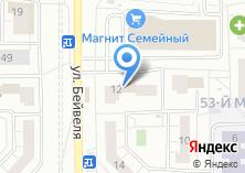 Компания «Забота» на карте