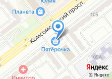 Компания «Сфера комфорта» на карте