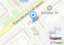 Компания «ГОФРОМАРКЕТ» на карте