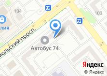 Компания «УралГражданПроект» на карте